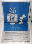Snoopy decorating Cake 'IF' Newspaper Ad