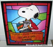 Snoopy Knight Metlife Poster