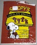 Snoopy's Chocolate Grahams Bag