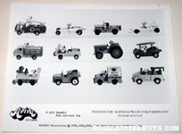 Peanuts Mini Die-cast Toy Cars Aviva Product Sheet