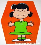 Lucy cardboard hanging sign