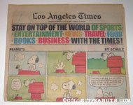 L.A. Times July 19, 1981 Comics Section