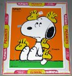 Snoopy with hiding Woodstocks Puzzle