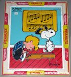 Snoopy dancing on Schroeder's Piano Puzzle