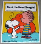 Snoopy shaking hands with Linus 'Meet the Head Beagle' Puzzle