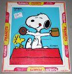 Joe Cool hugging Woodstock Puzzle