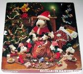 Santa Snoopy & Snoopy Elves Around Christmas Tree Puzzle