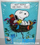 Snoopy & Woodstock in Nest 'Neat People are rarely tidy' Poster Puzzle