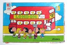 Peanuts with London Bus Puzzle