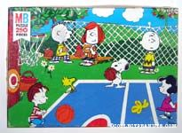 Peanuts playing Basketball Puzzle