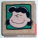 Lucy Portrait Rubber Stamp
