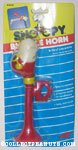 Snoopy Flying Ace head red Bicycle Horn