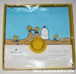 Snoopy buried in the sand by Woodstocks Stationery