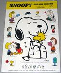 Peanuts & Snoopy Foreign Stickers