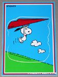 Peanuts & Snoopy Sticker Postcards