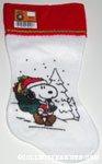Santa Snoopy with bag Stocking