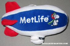 Flying Ace Metlife Blimp Stuffed Toy