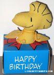 Woodstock in gift box 'Happy Birthday' Doll