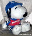 Snoopy racecar driver Plush