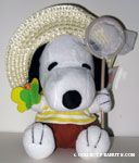 Snoopy Butterfly catcher with net Plush