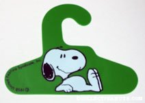 Snoopy Green Hanger