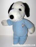 Snoopy Blue Pajamas Outfit
