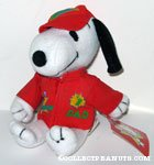 Snoopy Number One Dad Plush