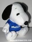 Snoopy blue Metlife t-shirt Plush