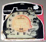 Peanuts Telephone Dial Plate