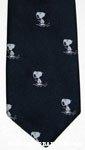 Snoopy with hockey stick Necktie