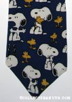 Snoopy and Woodstock Necktie