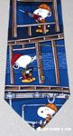 Snoopy construction worker building Necktie