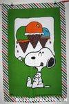 Snoopy with Ice Cream Cones Towel