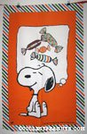 Snoopy with candies Towel