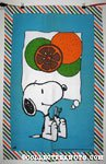 Snoopy with Fruit Towel