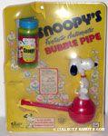 Snoopy's Fantastic Automatic Bubble Pipe - Blue Bubble Bottle