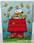 Snoopy hugging Woodstocks 'There's no such thing as too many friends' Puzzle