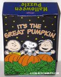 Charlie Brown, Snoopy & Linus in Pumpkin Patch Puzzle