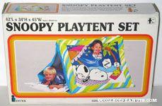 Snoopy & Woodstock sleeping Play Tent