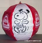 Beachball with Snoopy as Lifeguard