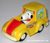 Peanuts & Snoopy Vehicles
