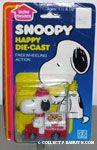 Snoopy in Cat Catcher Van