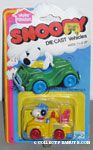 Snoopy driving Yellow Tow Truck