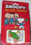 Peanuts & Snoopy Die Cast Vehicles