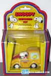 Snoopy driving a Taxi Cab
