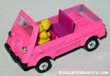 Woodstock in Land Rover