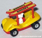 Snoopy in Ski Buggy