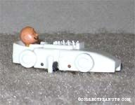Charlie Brown in White Race Car