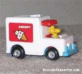 Woodstock in Ice Cream Van