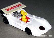 Woodstock in Race Car